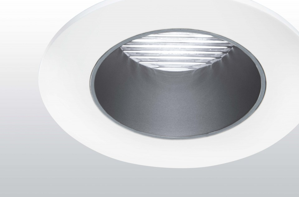 High-performance LED downlights for all interior applications