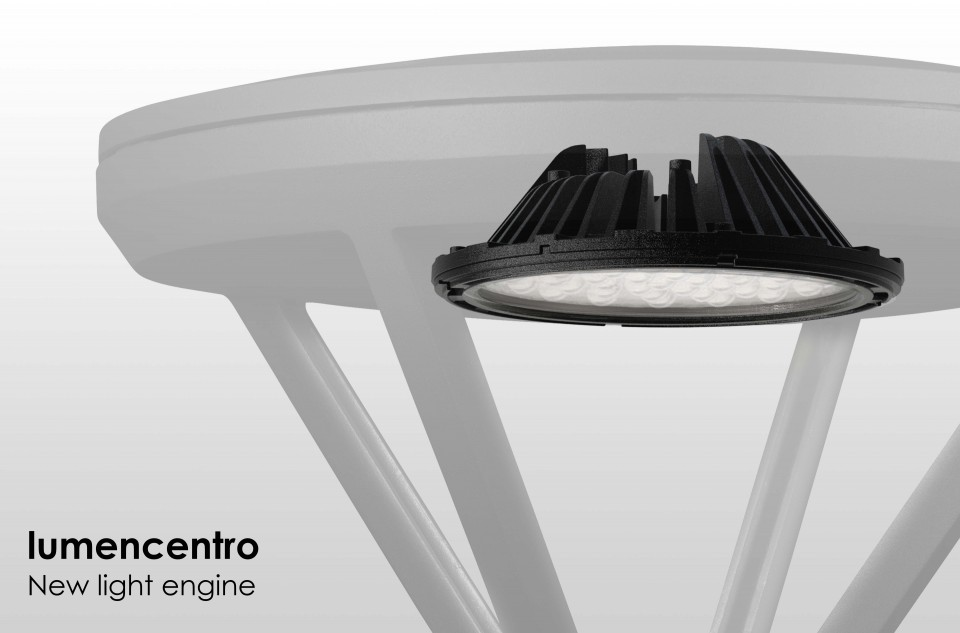 Durable LED luminaires featuring a minimalist, contemporary design