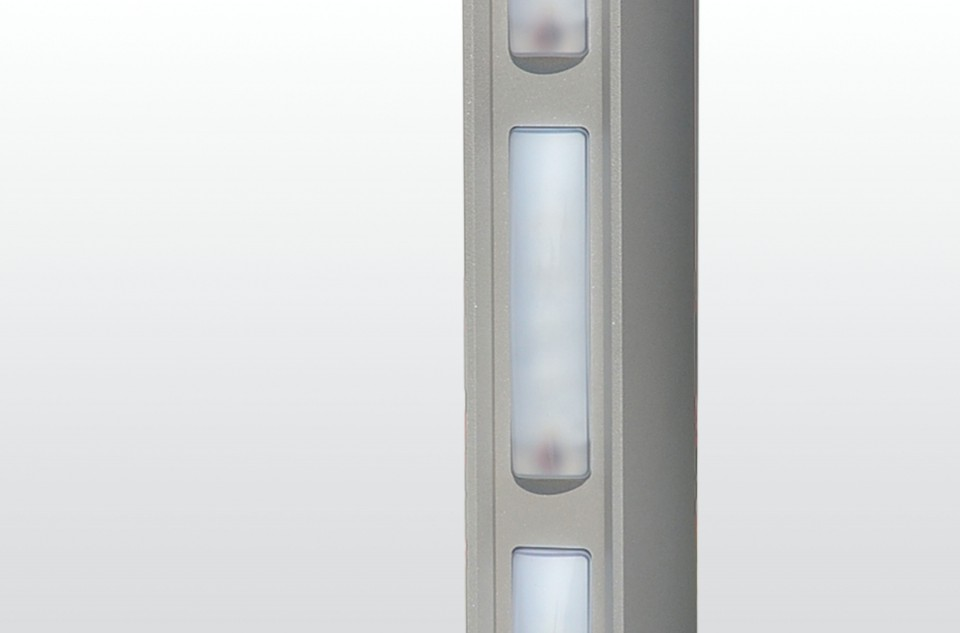 High-performance LED bollards and columns for decorative lighting