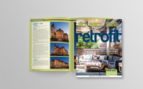 Retrofit Magazine Features Cincinnati City Hall