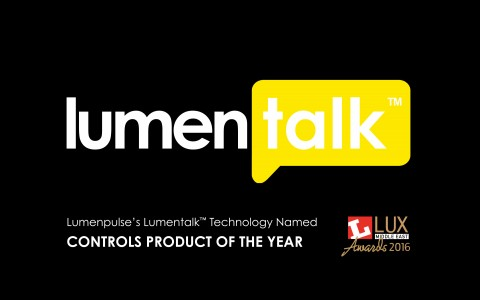 Lumentalk - Controls Product of the Year