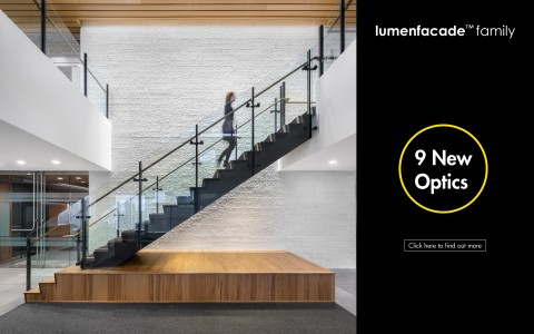 Lumenpulse Launches Nine New Optics for Lumenfacade Luminaires