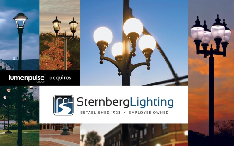 Lumenpulse Group Acquires Sternberg Lighting
