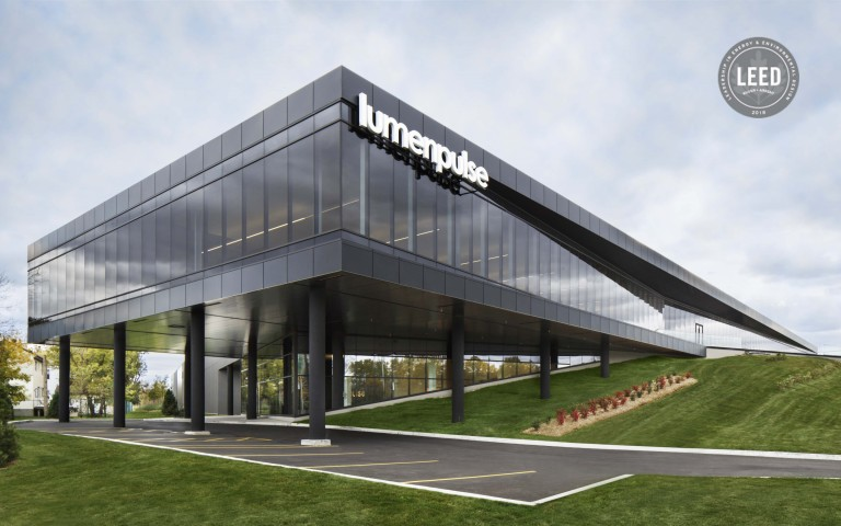 Lumenpulse Group Headquarters Awarded Prestigious LEED® Green Building Certification