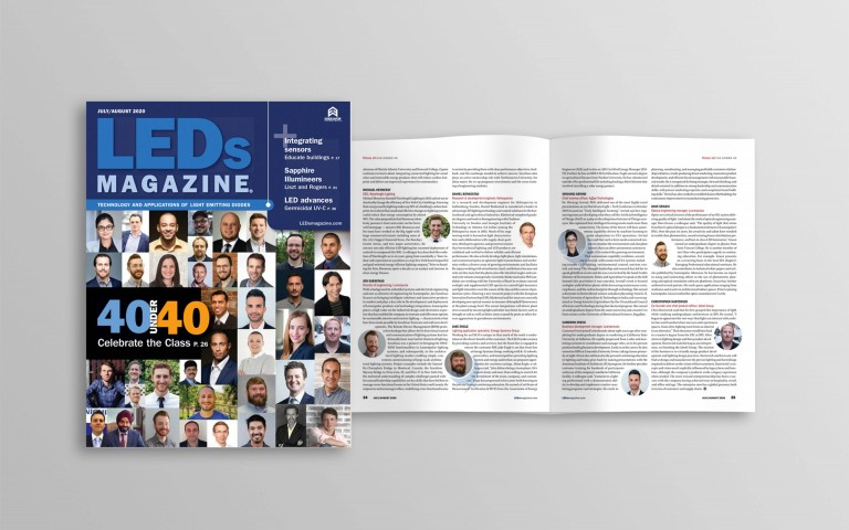 Two Lumenpulse Employees Make LEDs Magazine 40 Under 40 List