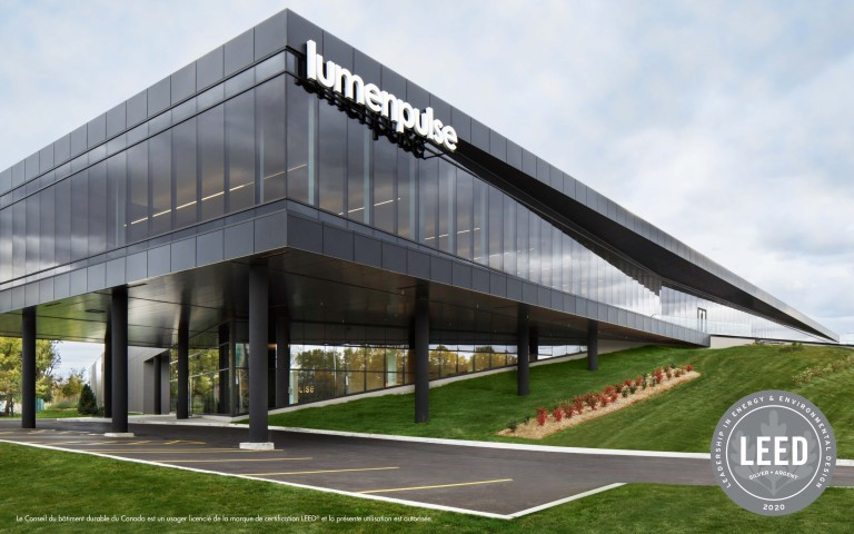 Lumenpulse Headquarters Awarded LEED® Silver® Certification
