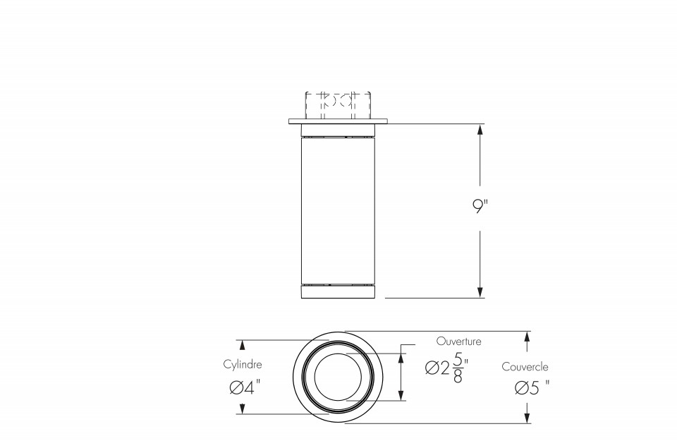 Short Cylinder Small Surface Mount Integral