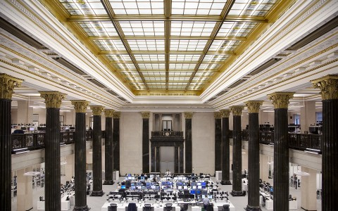 Trading Floor of the National Bank of Canada
