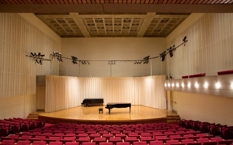 Buckley Recital Hall at Amherst College