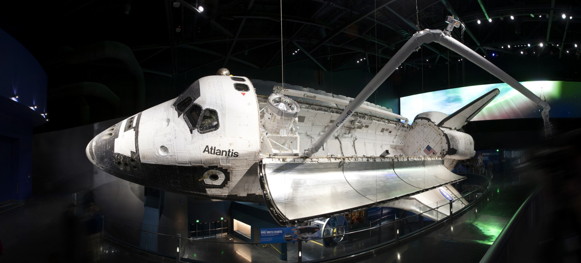 To ensure reliability and to simplify maintenance issues, the Kennedy Space Center required the use of LED fixtures for the shuttle's illumination.