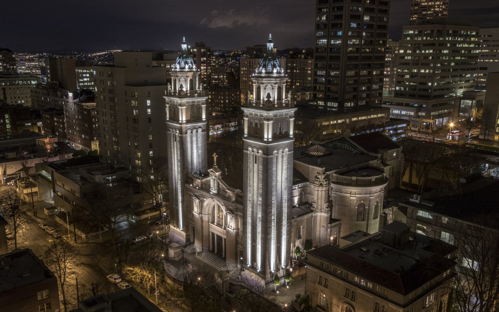 As the cathedral for the Catholic Archdiocese of Seattle, St. James has been welcoming diverse communities since 1907.