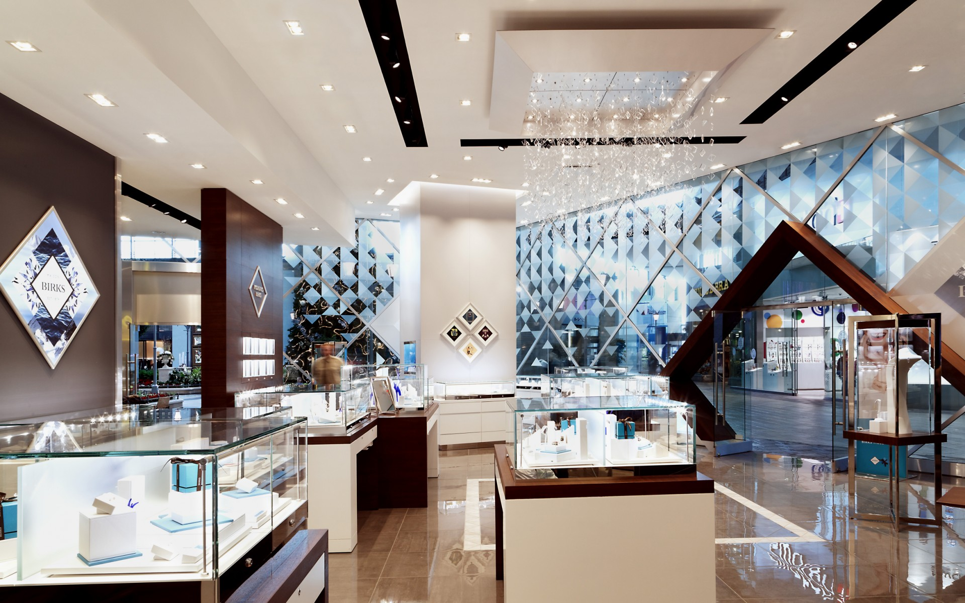 First opened in 1879, Birks is Canada's first jewelry chain.