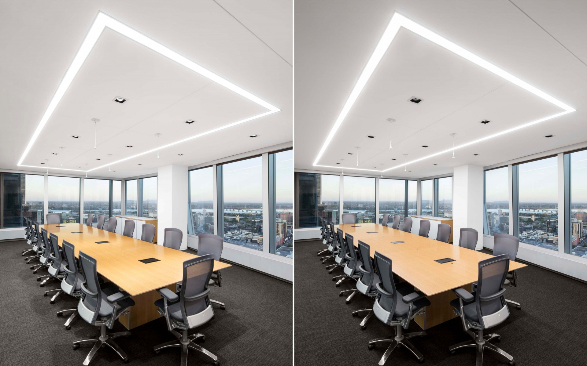 The versatility of the fixtures helped create a welcoming, energy-efficient environment.  – Stéphane Brugger