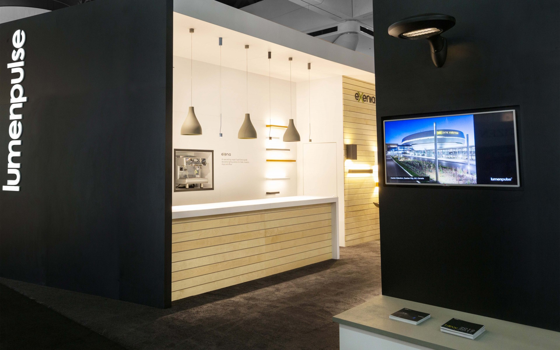 Exenia offers a range of decorative lighting solutions for hotels, shops, and museums, including suspended and wall-mounted luminaires, downlights, spotlights, and more.
