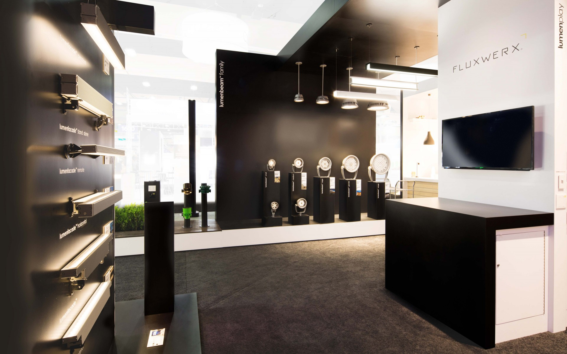 """""""With new optical innovations, and by welcoming to the family exciting brands like Fluxwerx and Exenia, we're allowing specifiers to unleash their full lighting design creativity, """" said Francois-Xavier Souvay, President and CEO of Lumenpulse."""