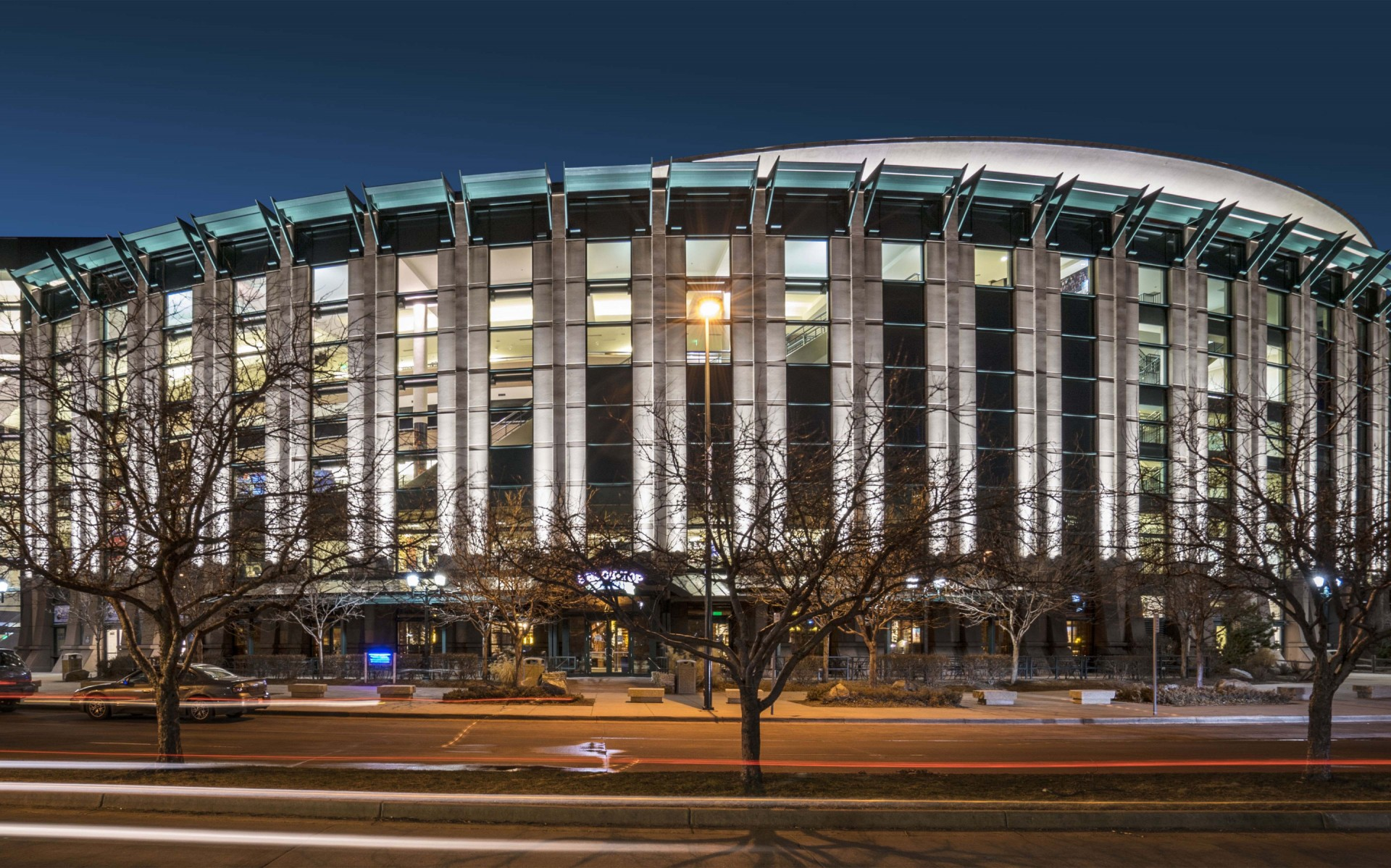 Opening its doors in the fall of 1999, the Pepsi Center hosts over 200 events every year.  – Sam Koerbel