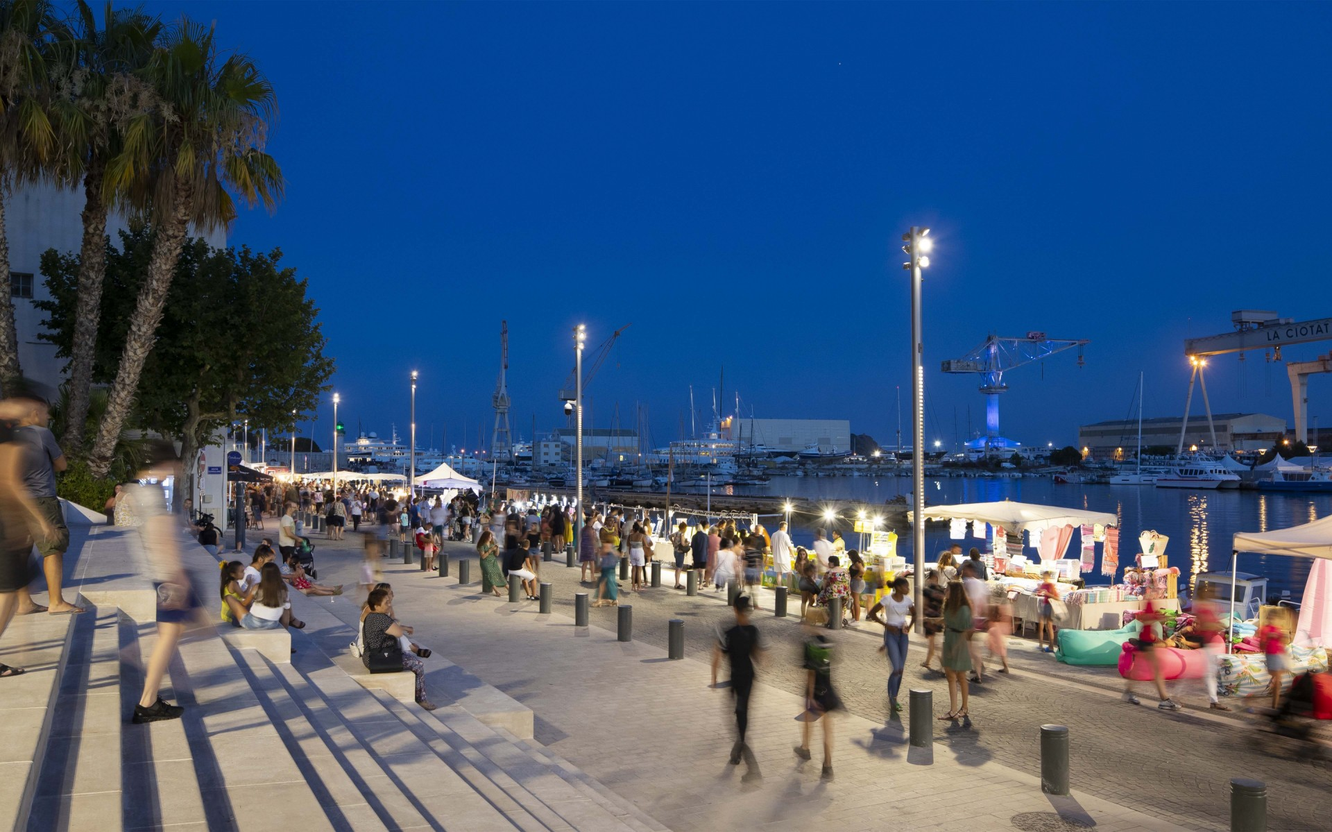 The main objective was to transform the Old Port of La Ciotat into a convivial space for citizens and visitors. – Xavier Boymond