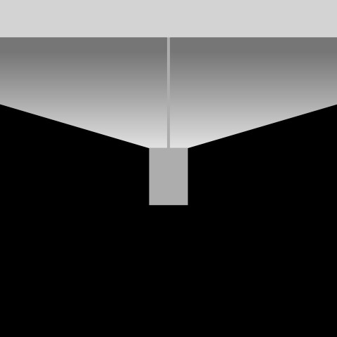 Batwing wide, 170° distribution