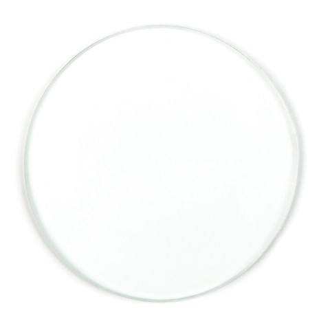 Softening glass lens