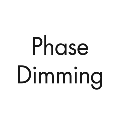 Phase dimming (consult factory)