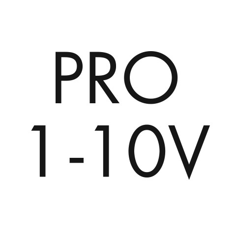 Pro 1-10V dimming, 0.1% linear