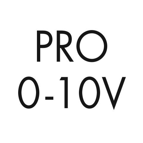 Pro 0-10V dimming, 0.1% linear